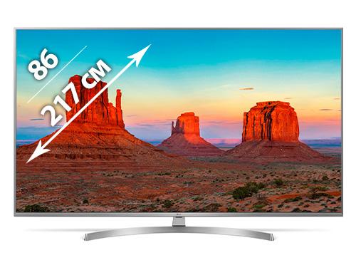 Телевизор LG — Samsung 86 дюйма (217см) в аренду