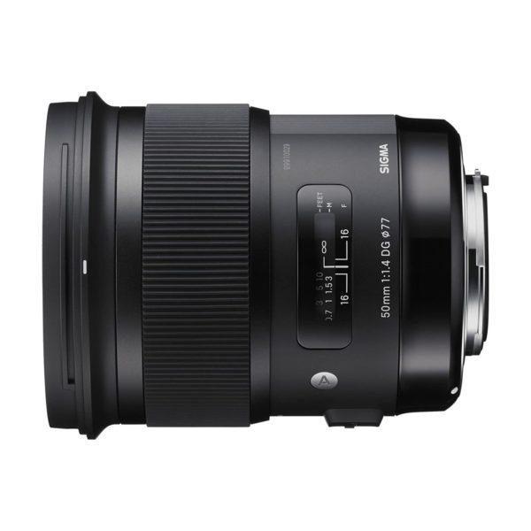 Аренда объектива Sigma AF 50 f-1.4 DG HSM Art для Canon