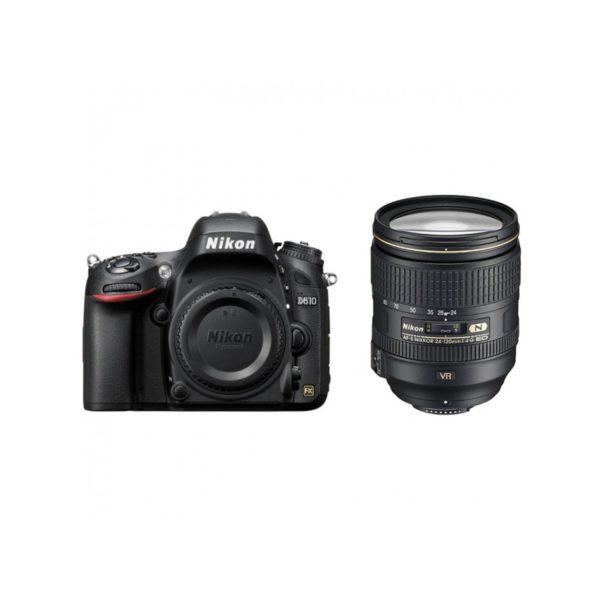 Аренда зеркального фотоаппарата Nikon D610 Kit 24-120 mm f-4G