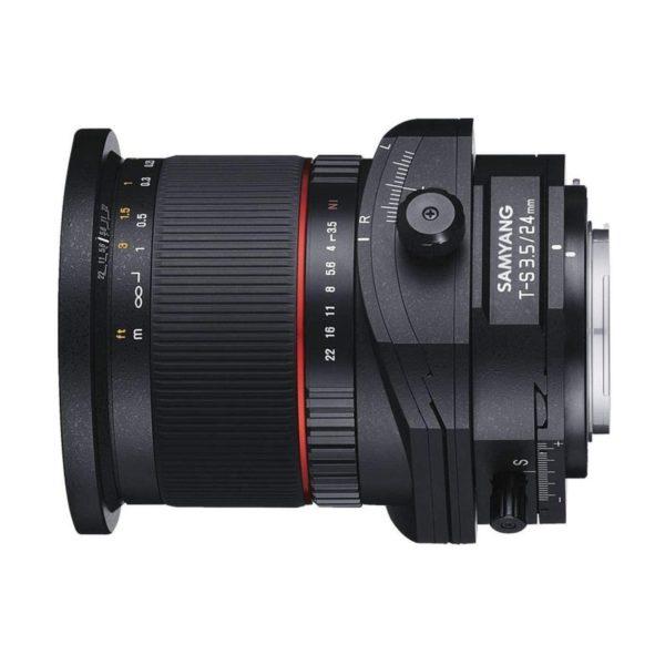 Аренда объектива Samyang 24 f-3.5 ED AS UMC Tilt-Shift Canon