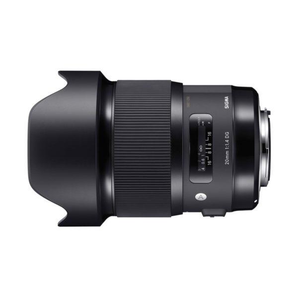 Аренда объектива Sigma AF 20 f-1.4 DG HSM Art для Canon