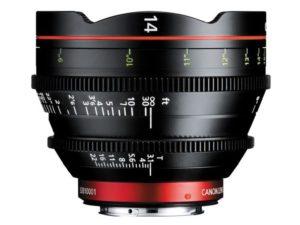 Аренда объектива Canon CN-E 14mm T3.1 L F