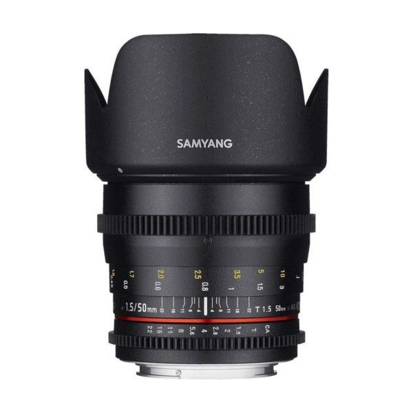 Аренда объектива Samyang 50 T1.5 VDSLR AS UMC Canon
