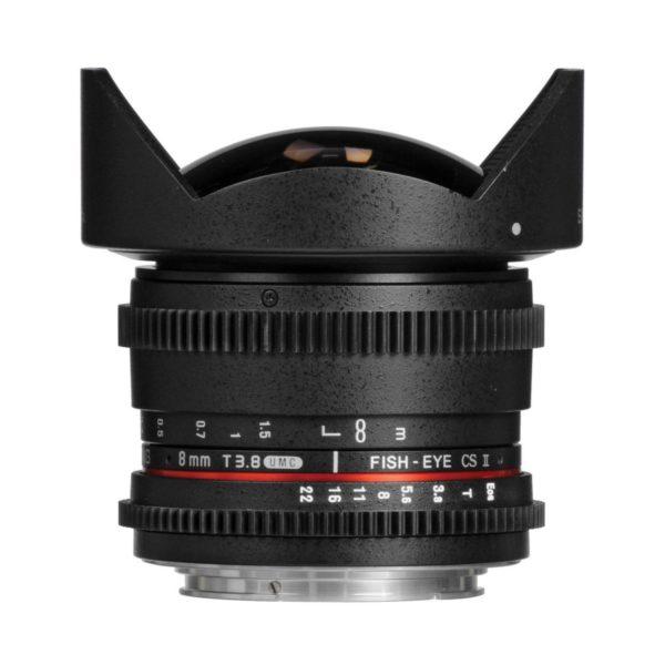 Аренда объектива Samyang 8 T3.8 VDSLR AS IF UMC Fisheye CS II Canon
