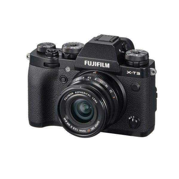 Аренда объектива Fujifilm XF16mm F2.8 R WR Black