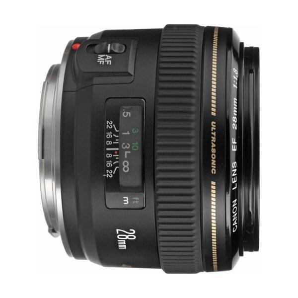 Аренда объектива Canon EF 28 f-1.8 USM