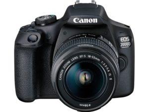 Аренда зеркального фотоаппарата Canon EOS 2000D EF-S 18-55 IS II Kit 02