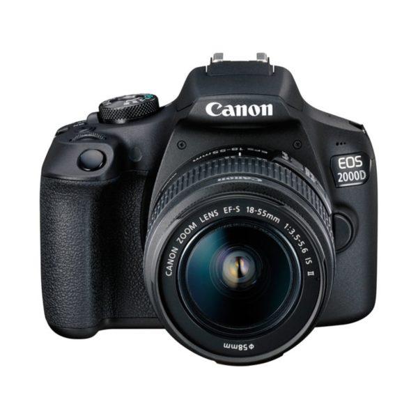 Аренда зеркального фотоаппарата Canon EOS 2000D EF-S 18-55 IS II Kit