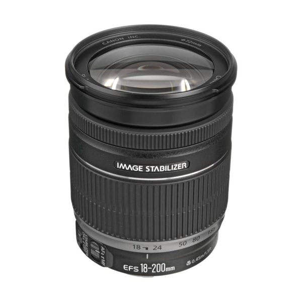 Аренда объектива Canon EF-S 18-200 f-3.5-5.6 IS