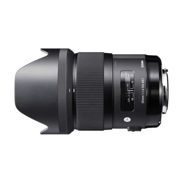 Аренда объектива Sigma AF 35 f-1.4 DG HSM Art для Canon