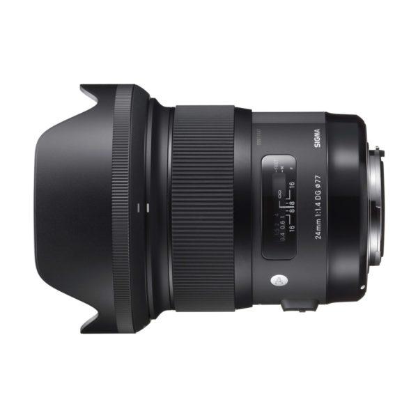 Аренда объектива Sigma AF 24 f-1.4 DG HSM Art для Canon
