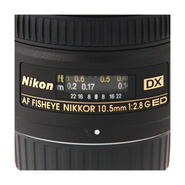 Аренда объектива Nikon 10.5mm f-2.8G ED DX Fisheye-Nikkor