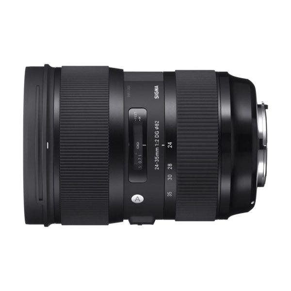 Аренда объектива Sigma AF 24-35 f-2.0 DG HSM Art для Canon