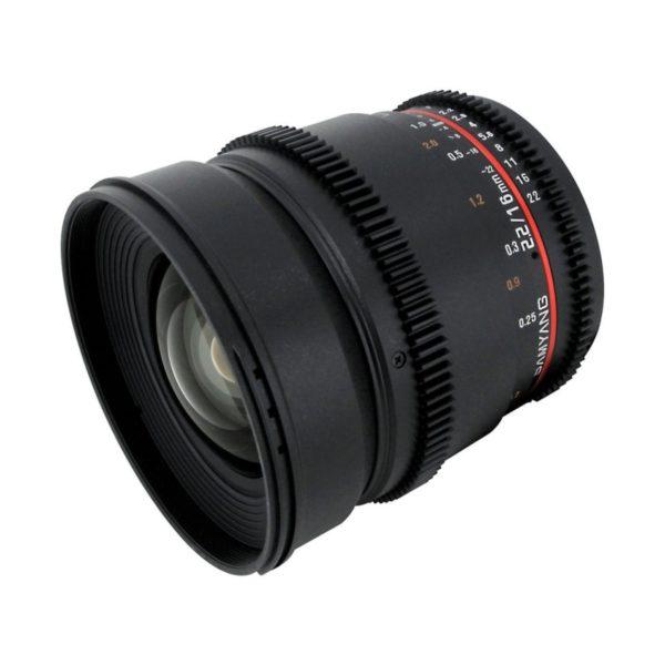 Аренда объектива Samyang 16 T2.2 VDSLR ED AS UMC CS Canon