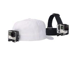 Аренда крепления на голову + клипсы на одежду GoPro Headstrap + QuickClip (ACHOM-001)|02
