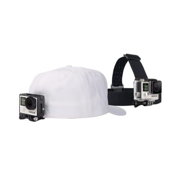 Аренда крепления на голову + клипсы на одежду GoPro Headstrap + QuickClip (ACHOM-001)