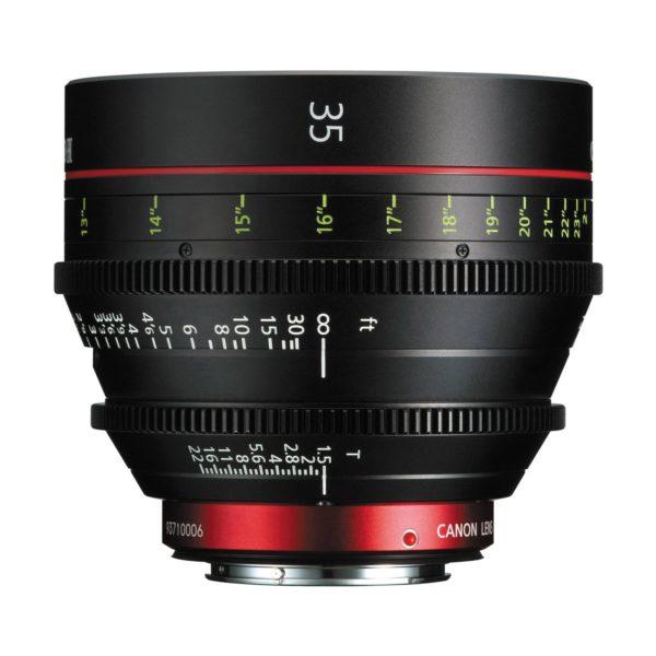 Аренда объектива Canon CN-E 35 T1.5 L F