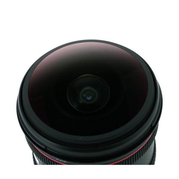 Аренда объектива Canon EF 8-15mm f-4L Fisheye USM