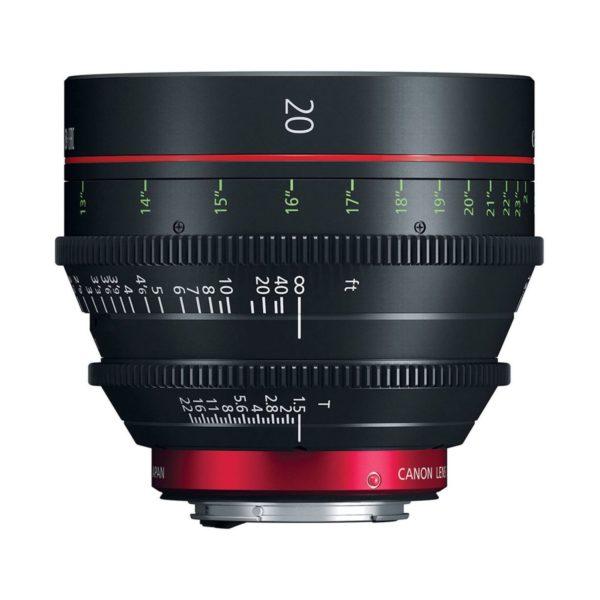 Аренда объектива Canon CN-E 20 T1.5 L F
