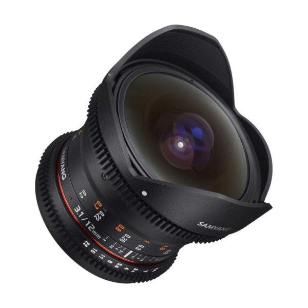 Аренда объектива Samyang 12 T3.1 VDSLR ED AS NCS Fisheye Canon