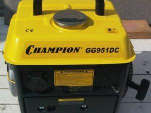 Аренда бензинового генератора Champion GG951DC