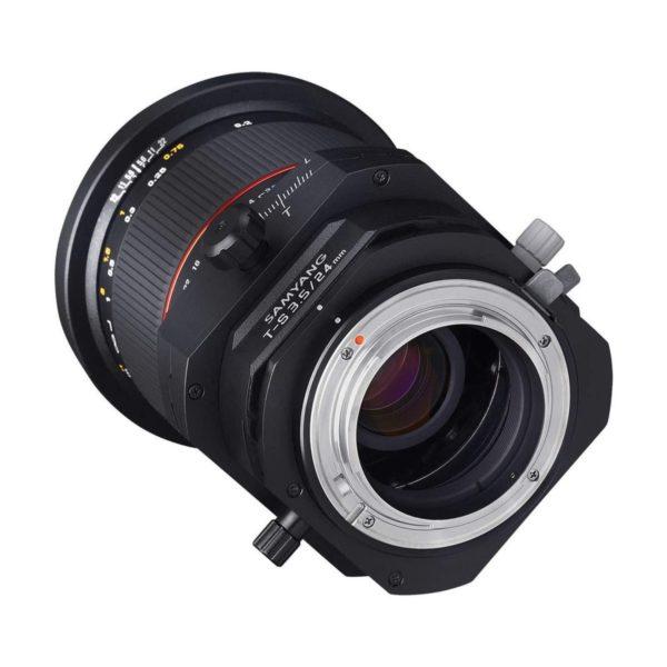 Аренда объектива Samyang 24 f-3.5 ED AS UMC Tilt-Shift для Nikon