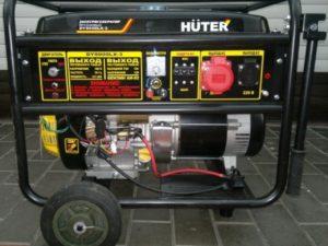 Аренда бензинового генератора Huter DY8000L