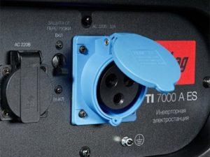 Аренда бензинового генератора Fubag TI 7000 A ES