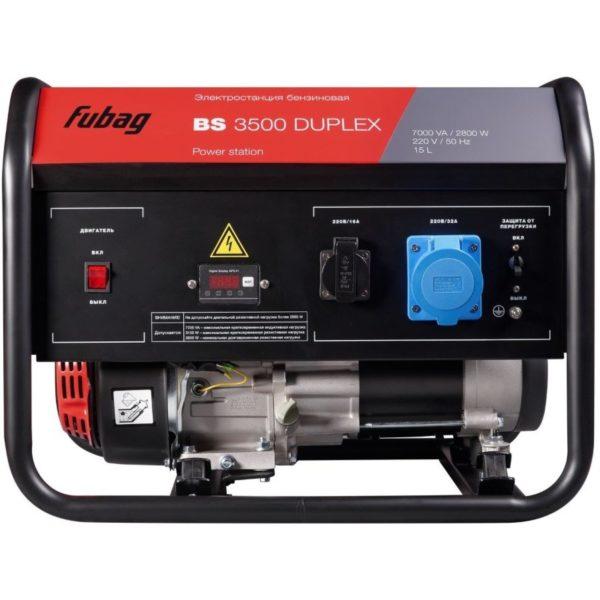 Аренда бензинового генератора Fubag BS 3500 Duplex